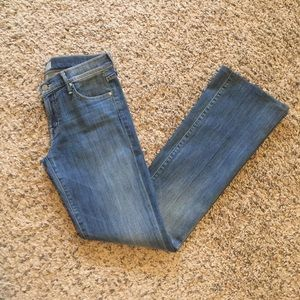 MOTHER The Outsider Bootcut Jean size 28!